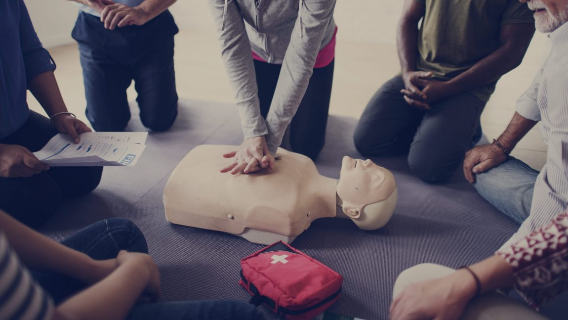 We'll help you to learn and feel confident in your first aid