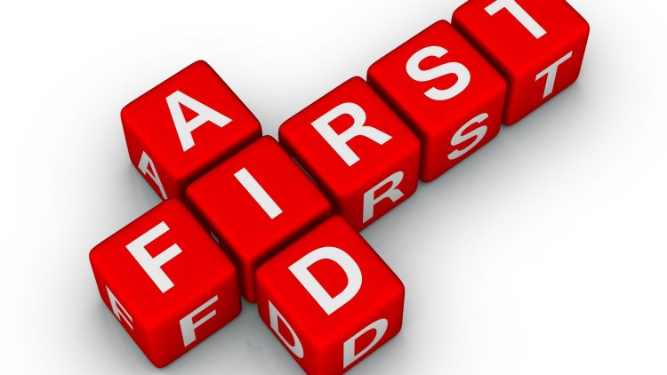 First actions of a first aider – Helping someone who is Choking (Adults and older children)